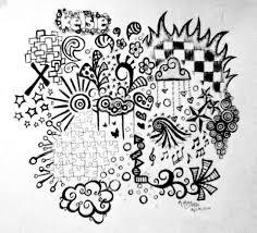 art portfolio doodles