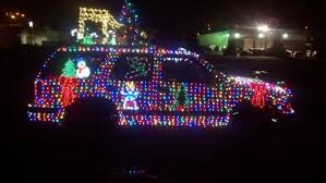 how to put christmas lights on your car matt s christmas art car
