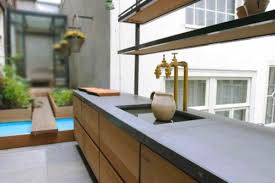 plan de travail cuisine effet beton la cuisine béton plan de travail suprabéton balian beton atelier