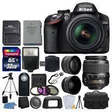 amazon com nikon d3200 24 2 mp cmos dslr camera black 18