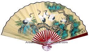 oriental fan wall hanging chinese wall fans chinese wall decor chinese paper fans chinese