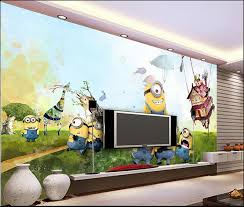 Kid Room Wallpaper by Compare Prices On Minion Wallpaper Online Shopping Buy Low Price