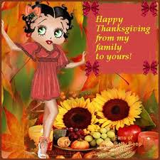 betty boopy happy thanksgiving quote pictures photos and images