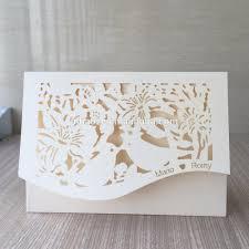 Laser Cut Invitation Cards Laser Cut Unique Wedding Invitations Card Philippines Personalize