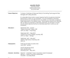 engineering student internship resume sle impressive objectivesr internship resume accounting objective