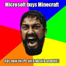 Meme Generator Ios - meme creator microsoft buys minecraft ads now for pe on android