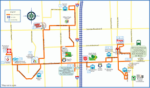Fort Lauderdale Map Neighborhood Link Sun Trolley