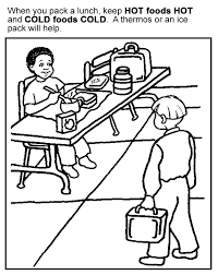 healthy foods coloring pages for kids 124 free printable