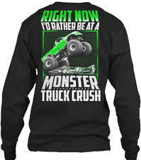 monster truck shirts ebay