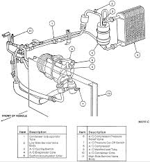 can you provide a diagram of the air condiioning system how it works