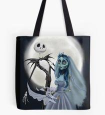 nightmare before tote bags redbubble