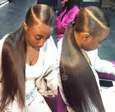 weave ponytail creativetayy slayed styles ponytail