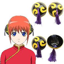 anime hair accessories hair accessories issuer japan anime gintama silver soul