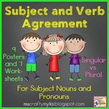 subject verb agreement worksheets teaching resources teachers