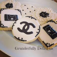 best 25 chanel cookies ideas on pinterest chanel party chanel