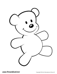 christmas coloring pages teddy bear alltoys for