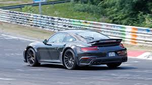 modified porsche 911 turbo next porsche 911 turbo spied looking wide on nurburgring