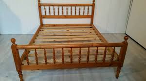 pending collection solid pine kingsize bed frame in dundee gumtree