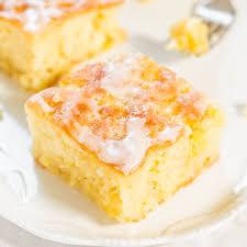 pineapple poke cake with pineapple glaze averie cooks