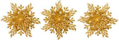 snowflake decoration ornament gold ornate