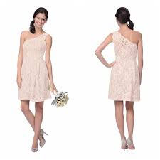 one shoulder lace bridesmaid dresses pale pink lace bridesmaid dresses one shoulder destination