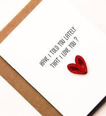amazon com i love you card for husband wife boyfriend