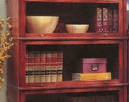 Barrister Bookcase Plans Barrister Bookcase Etsy