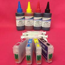 chip resetter epson xp 305 4 empty auto reset chip cartridges ink for epson xp 305 xp 312 xp