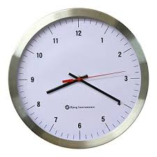 wall watch amazon com modern 12 stainless silent wall clock white face with