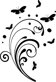 butterfly and swirl clipart panda free clipart images