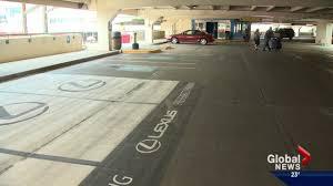 lexus west calgary lexus only parking stalls now at edmonton international airport