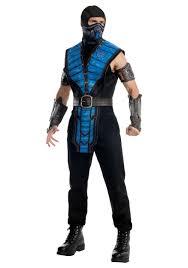 Halloween Costumes Mortal Kombat Costumes Mens Womens Mortal Kombat Halloween Costumes