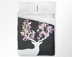 Teen Floral Bedding Deer Bedding Etsy