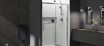 glass shower sliding doors shower doors showering bathroom kohler
