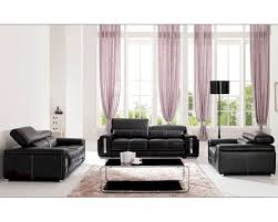 28 leather livingroom sets monarch specialties black bonded