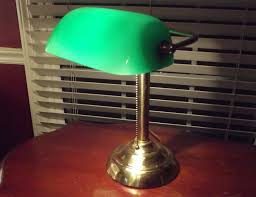 Traditional Bankers Desk Lamp Library Table Lamp Green Best Inspiration For Table Lamp