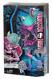 amazon com monster high toy kjersti trollson deluxe fashion