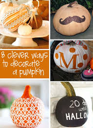 Pumpkin Decorating Without Carving Decorate Pumpkins Without Carving Creative Gift Ideas U0026 News At