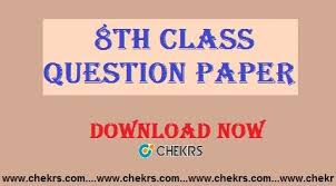 paper pattern grade 8 8th class question paper 2018 sle model papers download