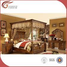 set de chambre bois massif luxe royale bois massif chambre meubles set roi du couvert de