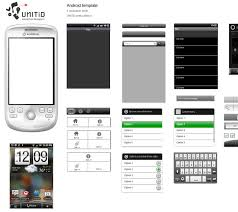 android gui designer android gui stencils kits and templates