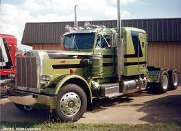 peterbilt 359 another old beaut classic semi trucks