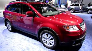 subaru tribeca 2015 interior 2013 subaru b9 tribeca exterior and interior walkaround 2013