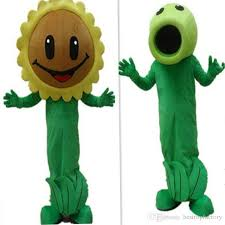 Sunflower Halloween Costume 2017 Sale Plants Zombies Sunflower Zombies Cartoon Mascot