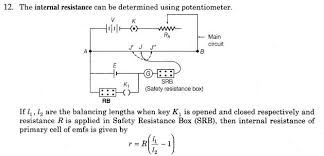 important questions for cbse class 12 physics potentiometer cell