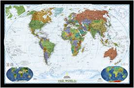 Large Map Of The World Large World Map For Wall Roundtripticket Me