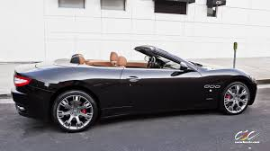 all black maserati maserati granturismo convertible