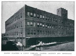 brown cracker co cracker wrappers flashback dallas brown cracker greater dallas ill ca1908