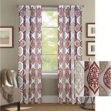 damask curtains drapes and valances ebay
