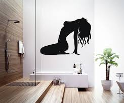Housewares Vinyl Decal People Nude Woman Model Silhouette Beauty - Design wall decal